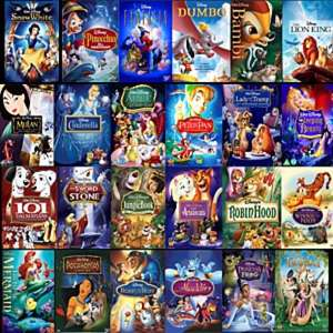 Disney DVDs £7 each or two for £12 @ Asda