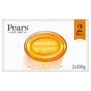Pears Amber Soap (2 x 100g) 90p @ Boots