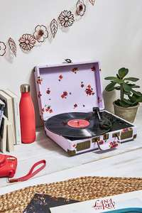 Crosley Cruiser Ltd Ed Floral Lavender Record Player with Bluetooth £40 @ Urban Outfitters