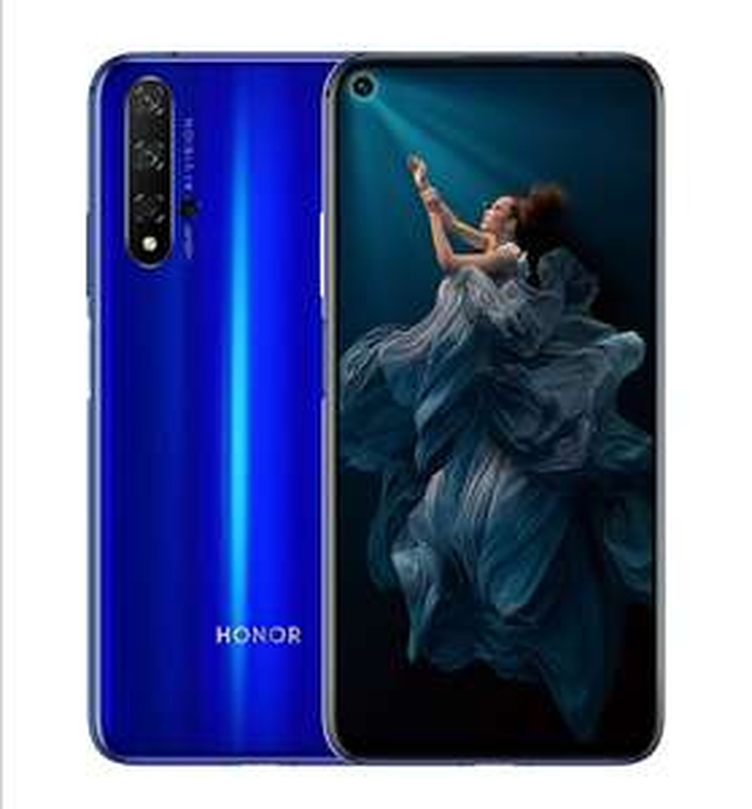 HONOR 20 Dual SIM Smartphone, 6.26 Inch Display, 48 MP AI Quad Camera, 6GB RAM + 128 GB storage £308.55 @ Amazon
