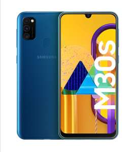 "Samsung Galaxy M30S 6000mAh Battery - 6.4"" 128GB Blue Smartphone £229 @ Amazon"