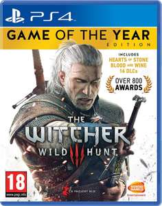 The Witcher 3 Wild Hunt - Game of the Year Edition (PS4) - £14.85 @ Base
