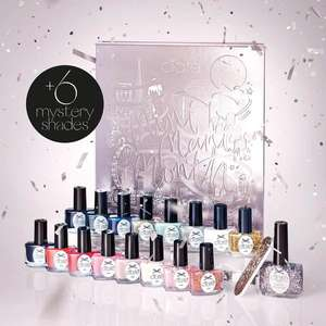 The Ciaté advent calendar mini mania month 2019 (includes 22 mini polishes, 1 nail file, 1 full sized polish