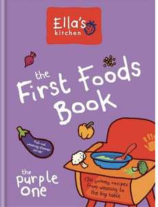 Ella's kitchen weaning recipe book - Free @ Boots (Parenting Club Members)