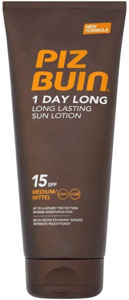 Piz Buin 1 Day Long Lotion SPF 15, Medium, 200 ml - £1.92 @ Amazon - Prime Exclusive