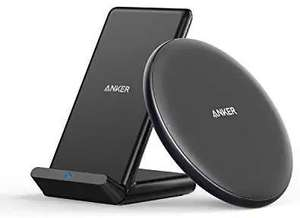 Anker Wireless Chargers Bundle, PowerWave Pad & Stand Sold by AnkerDirect and Fulfilled by Amazon £24.99