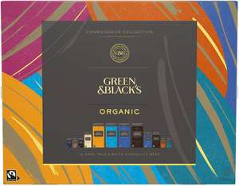 Green & Black's Tasting Collection Box 540g at Amazon for £10.99 Prime (+£3.49 non Prime)
