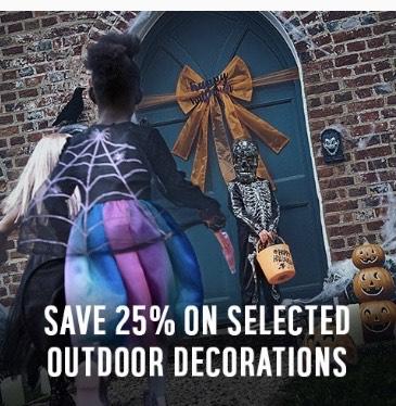 Argos Save 25% on various outdoor Halloween decorations