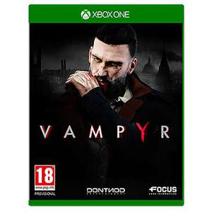 Vampyr [Xbox One] Preowned for £2.99 free C&C or + £2.95 Delivery @ Game