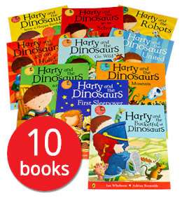 Harry and the Dinosaurs Collection - 10 Books (Collection) £12.94 delivered Book people