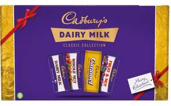 Cadbury Classic Collection Selection Box 460g £4 @ Wilko