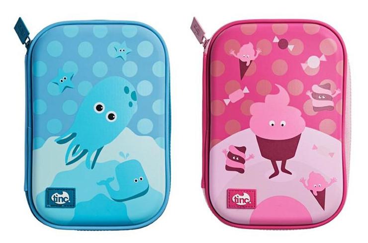 Tinc Hard Case Pencil Cases - Blue Octopus or Pink Cupcake - £2.25 @ Morrisons