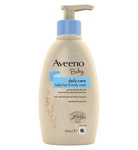 Half price on selected aveeno products @ boots