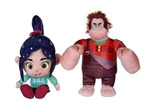 Wreck it Ralph and Vanellope set 10inch soft toy set £8.36 prime / £12.84 non prime @ Amazon