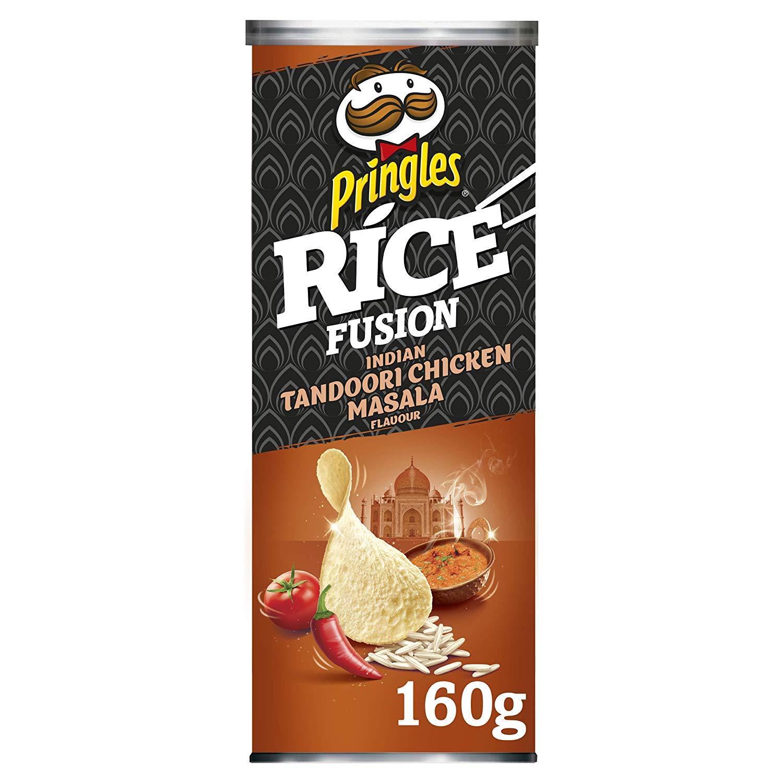 Pringles Rice Fusion Indian Tandoori Chicken Masala 1p amazon pantry