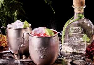 Patron Silver Tequila 70cl Cocktail Gift Pack £27.99 with Amazon Treasure Truck