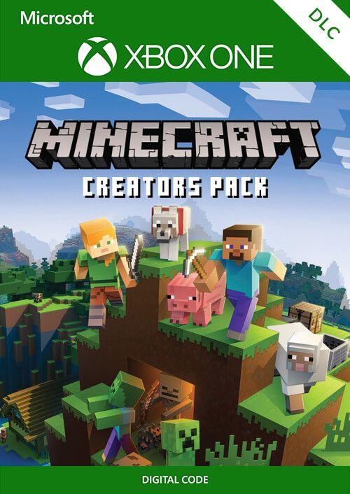 Minecraft Creators Pack Xbox One £1.29 @ CDKeys