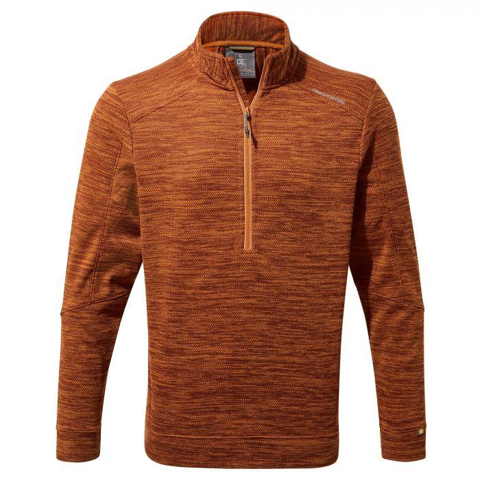 Craghoppers Strata Half-Zip Fleece in Terracotta for £21.24 click & collect (using code) @ Hawkshead