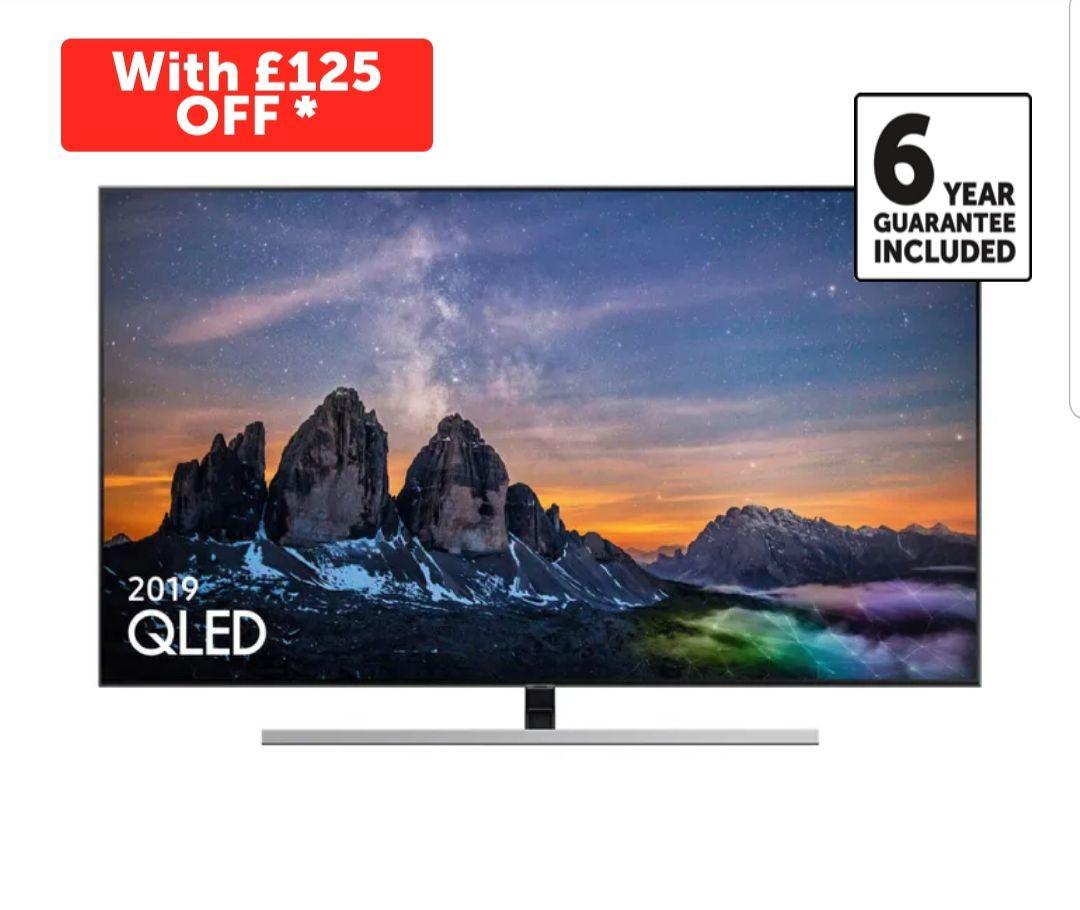 Samsung QE65Q80R 65 inch 4K Ultra HD HDR QLED TV £1,574 at Richer Sounds