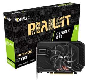 Palit NVIDIA GeForce GTX 1660 SUPER 6GB StormX Turing Graphics Card £209.99 + £4.79 delivery at Scan