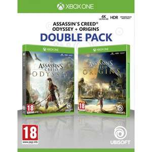 Assassin's Creed Origins and Assassin's Creed Odyssey Double Pack [XBox One] for £29.95 Delivered @ The Game Collection