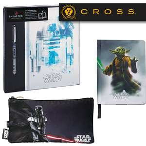 Extra 20% Off + Free Delivery On Outlet Items - EG Sheaffer Star Wars Pop & Journal Gift Set £10.80 / Yoda Medium Journal £4.80 @ Cross