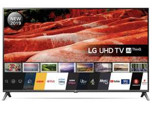 LG 43UM7500PLA 43-Inch UHD 4K HDR Smart LED TV with Freeview Play - Dark Meteor Titan colour (2019 Model) £367 at Amazon