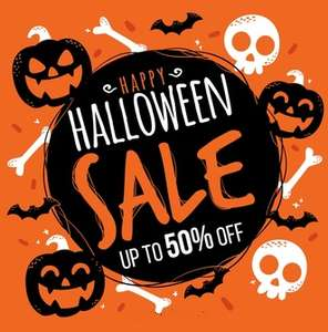 Everything Halloween up to half price @ The range online / instore