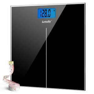 Letsfit Digital Body Weight Scale £12.76prime / £17.25 non prime Sold by QKUK Direct and Fulfilled by Amazon