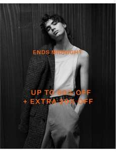 Up To 50% OFF +Extra 20% Off Sale ends midnight at All Saints
