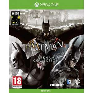 BATMAN: ARKHAM Collection Steelbook Edition £25.95 delivered @ The Game Collection