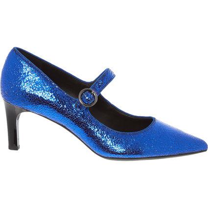 GEOX Metallic Blue Pointed Shoes £21.98 @ Tk Maxx
