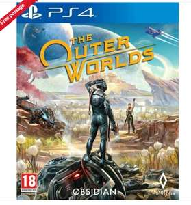 The Outer Worlds PS4 £38.21 @ thegamecollectionoutlet Ebay
