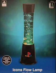 Playstation lava lamps £20 @ B&M