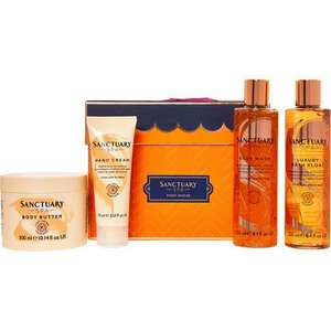 SANCTUARY SPA Finest Fancies Luxury Set click and collect £16.98 @ TK Maxx