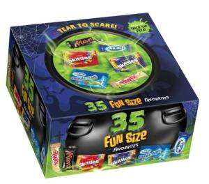 Mars 35 fun size Halloween box £2 Wilko Allestree - Derby