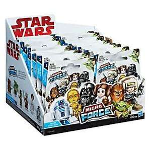 Star war micro force blind bags 49p instore home bargains south shields