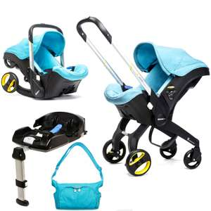 Doona Infant Car Seat / Stroller With Isofix Base & Changing Bag £349.95 - Save £120