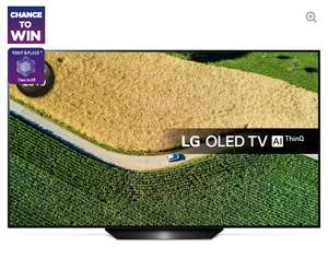 """LG OLED55B9PLA 55"""" Smart 4K Ultra HD HDR OLED TV with Google Assistant £1,174 @ Currys PC World"""
