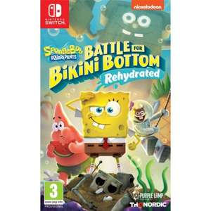 SpongeBob SquarePants: Battle for Bikini Bottom – Rehydrated (Switch/PS4/Xbox One) £21.95 Delivered (Preorder) @ The Game Collection