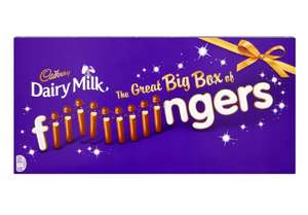 Cadburys dairy milk great big box fingers £3.99 home bargains south shields