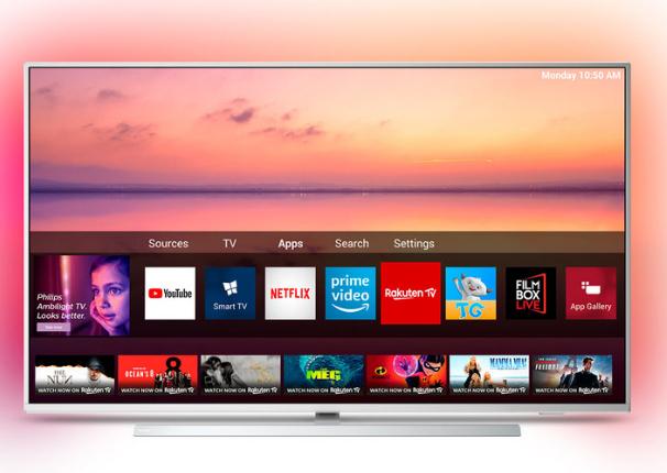 Philips 55PUS6804/12 55 Inch 4K Ultra HD Smart Ambilight TV £469.99 @ Costco