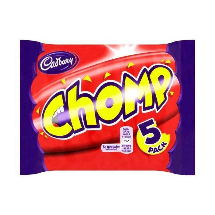 Cadbury Chomp 5 pack 50p @ Wilko Newbury