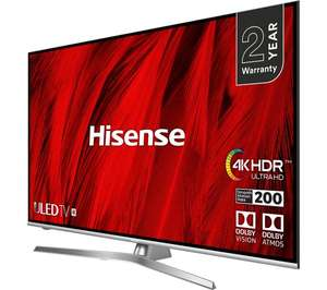 "HISENSE H55U8BUK 55"" Smart 4K Ultra HD HDR LED TV £549 with code @ Currys"