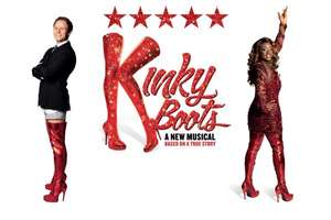 MK Theatre Kinky Boots, Band A tickets at Band B price (Inc. drink!) at ATG Tickets