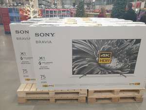 "Sony 75"" KD75XG8505 £1,679.98 @ Costco (Liverpool)"