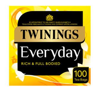 Twinnings tea - English Breakfast/ Strong English Breakfast £3 @ sainsbury's