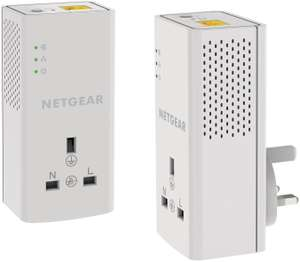 NETGEAR PLP1000-100UKS Powerline Adapter 1000mbps with passthrough - Pack of 2 £34.99 at Amazon