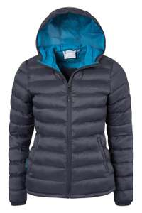 Women's padded water resistant lightweight Jacket £30 with code Free Postage at Mountain Warehouse eBay