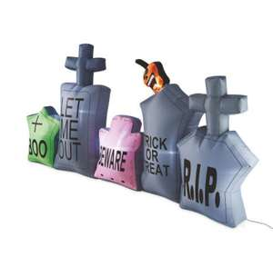 Halloween Inflatable Graveyard £12.49 at Aldi